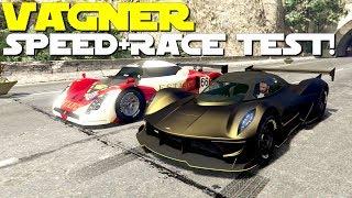 ��Dewbauchee Vagner Speed+Race Test!�� [GTA 5 Online Gunrunning Update DLC]