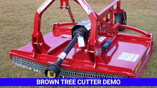 Brown Tree Cutter