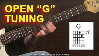 "GUITAR: Open ""G"" Tuning"