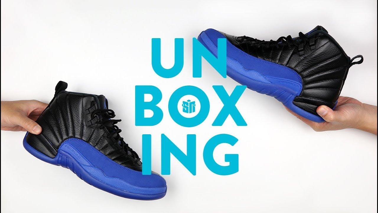 Jordan 12 Game Royal Unboxing