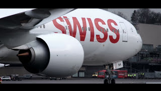 Welcome SWISS Boeing 777-300ER