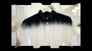 видео Эффект деграде в одежде, ткань деграде