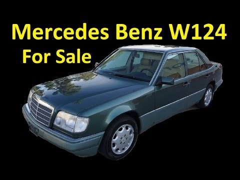 MERCEDES BENZ W124 E320 ~ FOR SALE ~ 1 OWNER ~ USED CAR EXTERIOR VIDEO
