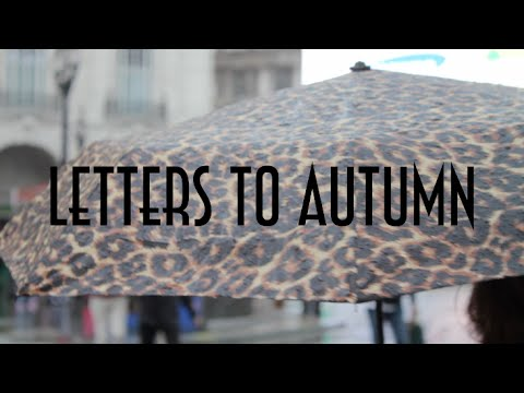 Letters To Autumn ||| 4