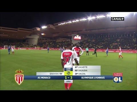 Ligue 1 - AS Monaco 1-3 Olympique Lyonnais - 18ème Journée