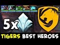 When Tigers pick their 5 BEST HEROES — SEA MINOR Finals
