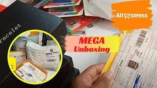 MEGA UNBOXING Aliexpress/ Produtos Que Vendo Bem/ Mais de 50 itens/ Importação