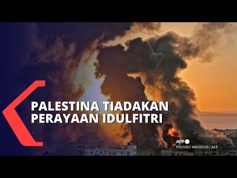 Berduka karena Serangan Roket Israel, Palestina Meniadakan Perayaan Idulfitri