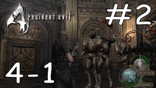 RESIDENT EVIL 4 NEW GAME PROFESIONAL SPEEDRUN 02:18:21 / NO GLITCHES / CAP 4-1 PARTE 2