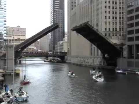 Madison Street (Lyric Opera) Bridge - Chicago, IL