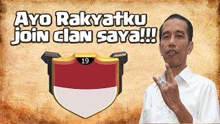 PRESIDEN Bapak Joko Widodo Mempromosikan Clannya??? - Ayo buruan gabung sebelum penuh!!!
