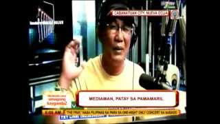 Another Filipino radio broadcaster killed