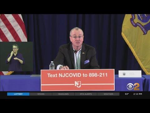 Coronavirus Update: Gov. Murphy Updates On New Jersey's Response To The COVID-19 Outbreak