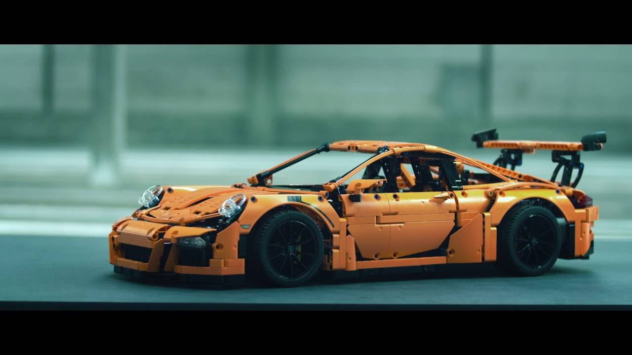build your dream car porsche 911 gt3 rs lego technic 42056 youtube. Black Bedroom Furniture Sets. Home Design Ideas