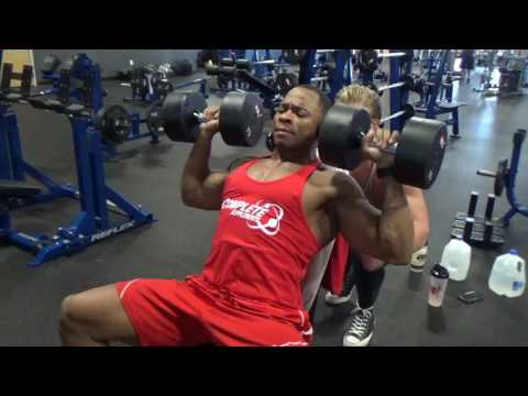 Training with Austin Williams  7 days out