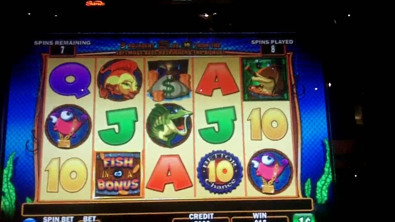 Fish in a barrel slot bonus igt youtube for Fish slot machine