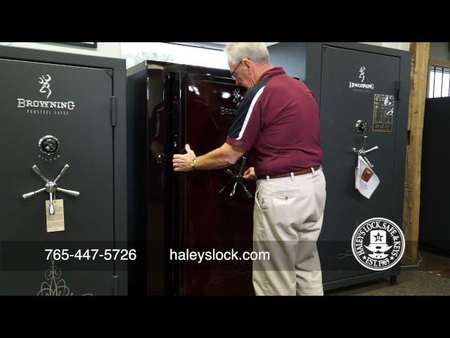 Video Thumbnail of Haley's Access Lock Safe & Key - Safes Commercial