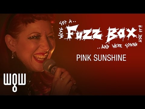 Whitby Goth Weekend - Fuzzbox - 'Pink Sunshine' Live