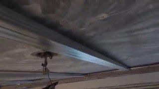 Самоучитель по монтажу. Потолок из гипсокартона с подсветкой и светильниками -Урок 10
