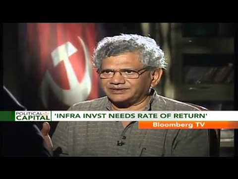 Political Capital - Telecom, Roads, Aviation Infra A Crumbling Mess: Sitaram Yechury