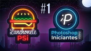 Como criar Logo no Photoshop com Efeito Neon | Tutorial #1