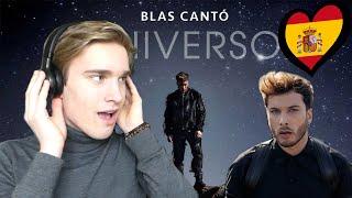 Reaction Spain 2020 Blas Cantó - Universo Eurovision