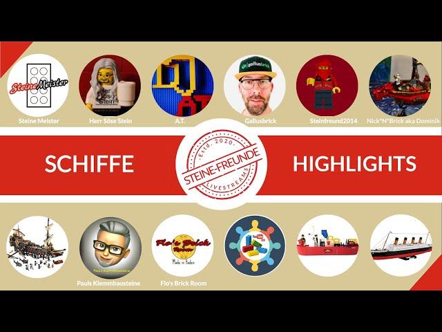 Schiffe Highlights aus der Klemmbausteinwelt (LEGO®, COBI, Zhe Gao und MOD/MOCs). #BBfH