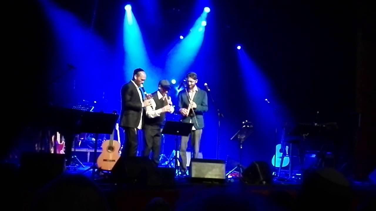 נדיר! אהרן, יונתן וניצן חן רזאל בטריו חליליות - LIVE