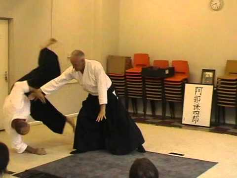 Henry Ellis Shihan - aikido with Brad Beeden video  Lesson 1