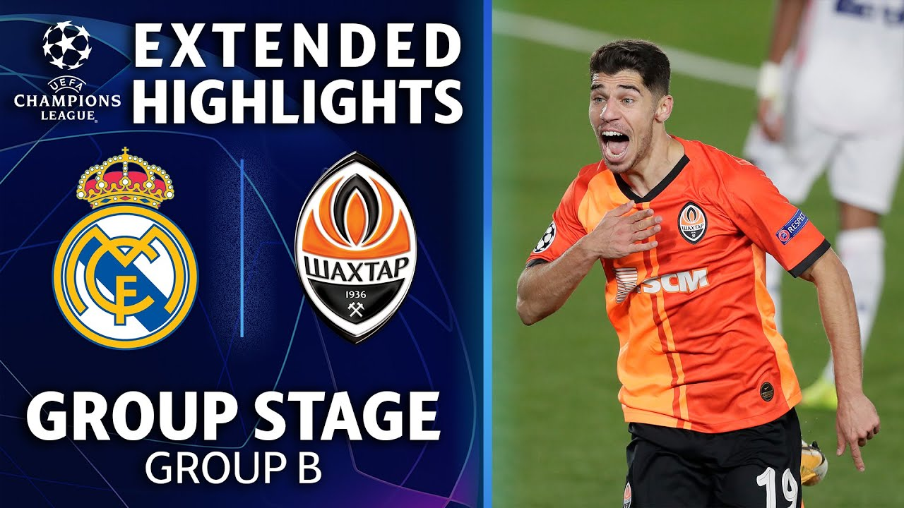 Shakhtar Donetsk vs. Real Madrid - Football Match Report ...