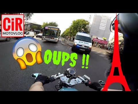 🗼1 Journée Parisienne  en Mash 125  et Triumph 675 🗼😝!