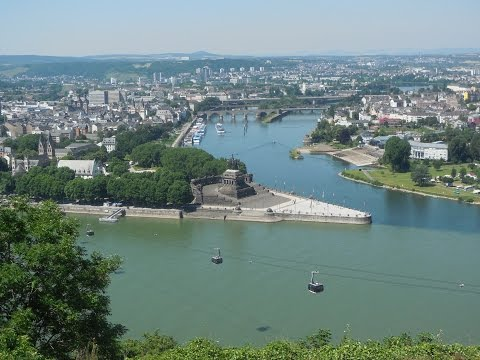 Adorable and Charming Town #3: Koblenz on the Rhine