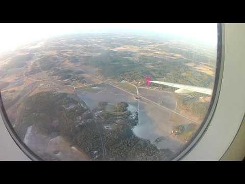 FINLAND ROAD TRIP Day1 v3 Flying over Finland - Landing in Turku