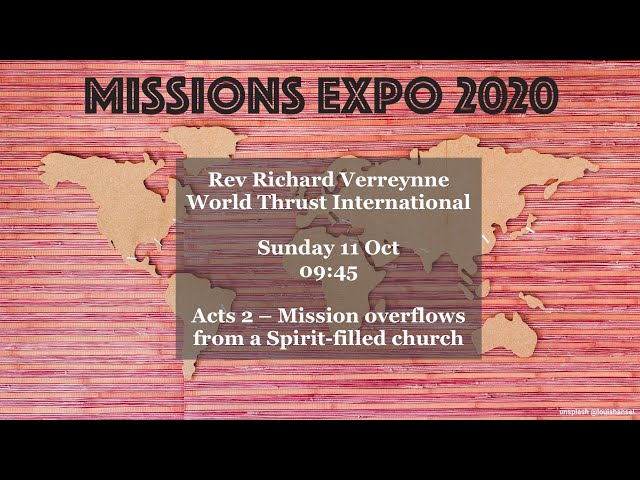 Richard Verreynne - Acts 2 Mission overflows from a Spirit filled Church