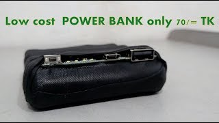 how to make a POWER BANK from laptop scrap battery
