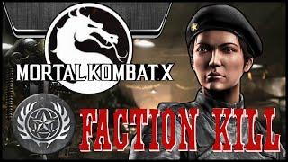 Mortal Kombat X: ★ALL★ Special Forces Faction Kills! (PS4)