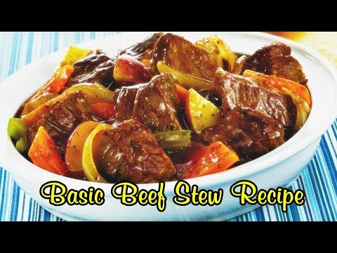 Basic Beef Stew Recipe Quick And Easy Meals