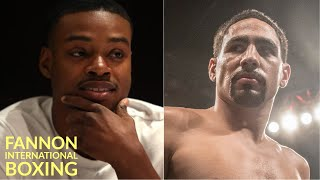 "DANNY GARCIA WARNS ERROL SPENCE...""STAY AWAY IF YOU AIN'T READY...NO EXCUSES WHEN I BEAT YOU!"""