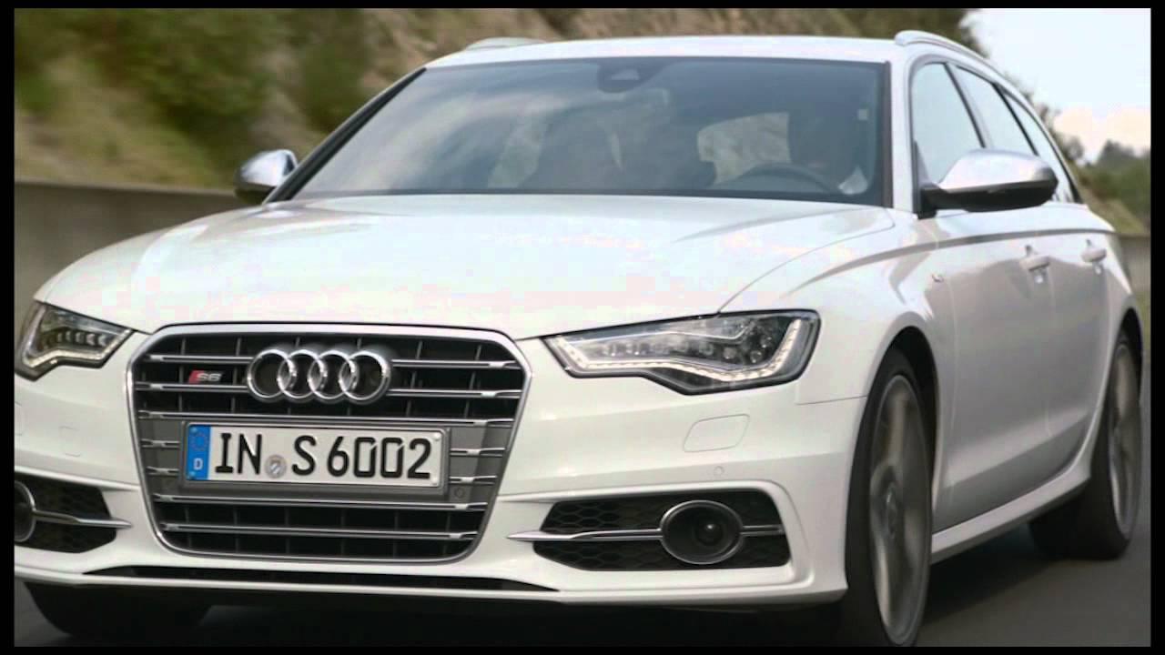2012 Glacier White Audi S6 Avant Drivng Youtube