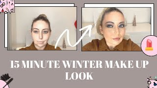 15 MINUTE WINTER MAKE UP LOOK  - USING PRODUCTS I ACTUALLY USE DAILY - Tanya Louise