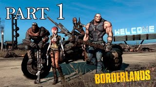 Borderlands Gameplay Walkthrough Part 1 No Commentary