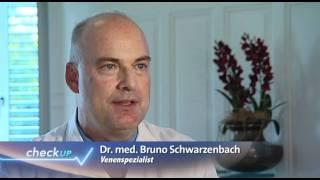 Krampfadern - Hirslanden & TeleZüri: Gesundheitssendung CheckUp(Krampfadern sind eine Volkskrankheit. Werden sie rechtzeitig behandelt, können Komplikationen vermieden werden. Frauen sind mit 60 Prozent etwas häufiger ..., 2011-11-16T15:03:53.000Z)