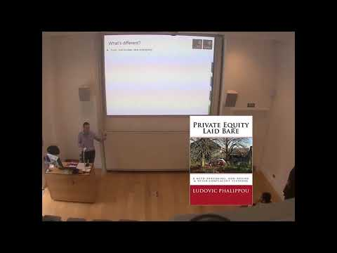 Ludovic Phalippou Private Equity Book Presentation
