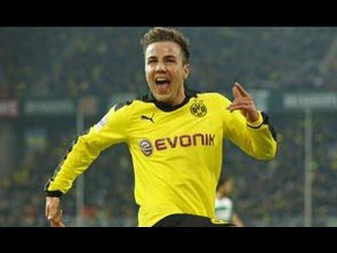 3:1 Mario Götze: Borussia Dortmund - Greuther Fürth (3:1) Bundesliga 12. Spieltag BVB