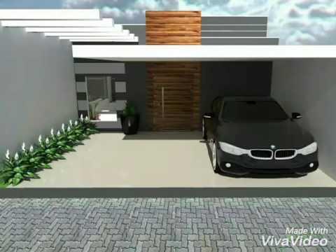Natan fontes casa 70m doovi for Casa moderna 7x20