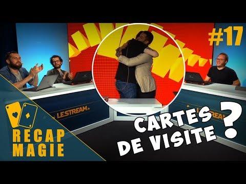 Vinz Magicien Chez Le Stream 17 Cartes De Visite