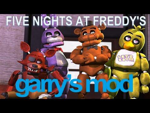 Карту для гаррис мод 10 five nights at freddy s