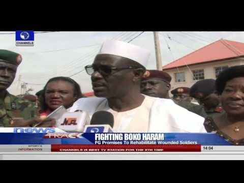 FG Promises To Rehabilitate Wounded Soldiers    29/08/15