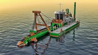 Cutter Suction Dredger - Optimized design