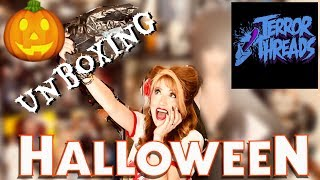 Terror Threads Halloween Collection And PO Box Gifts And Small Rant